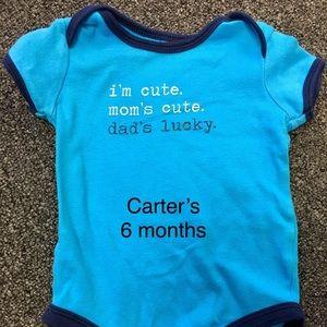 Carter's onsie